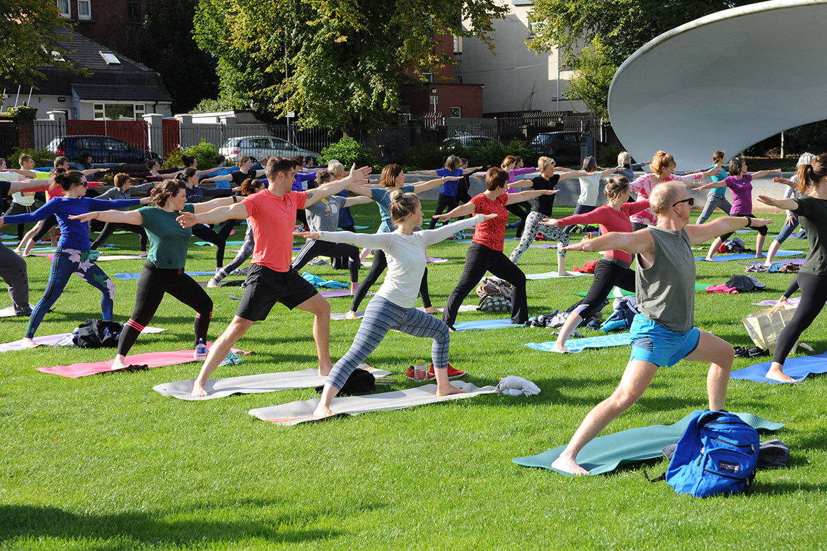 Yoga in the Park Launch Details | Himalaya Yoga Valley ...